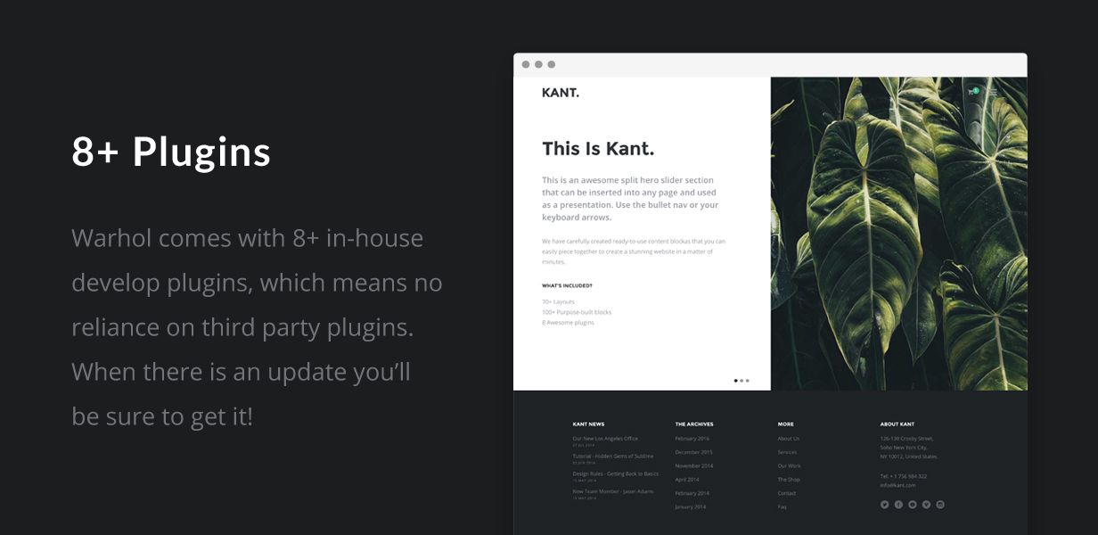 Kant - A Multipurpose Template For Startups And Freelancers - 7