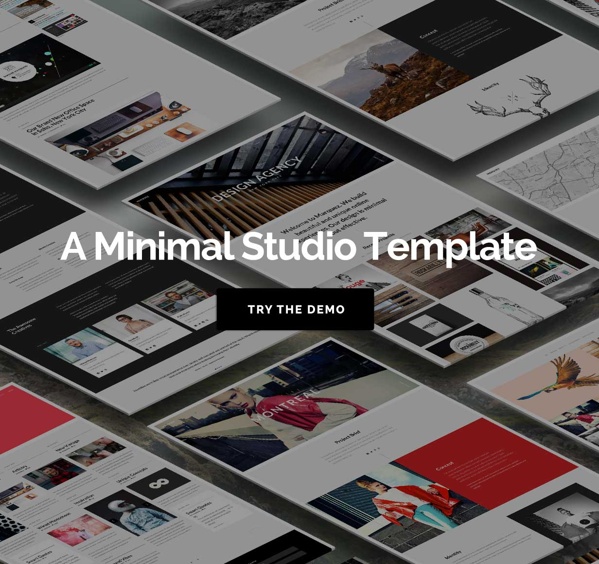 Marquez - A Creative Agency HTML Template