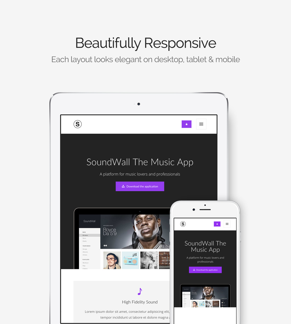 Sartre - Creative Multipurpose HTML Template