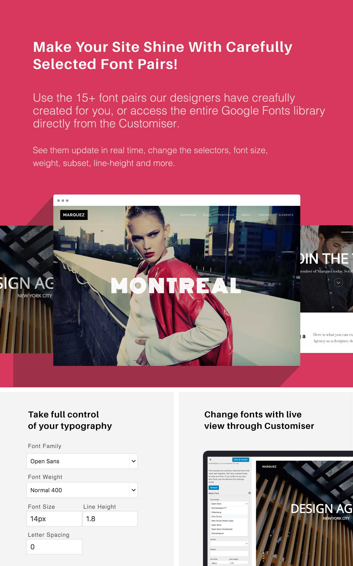 Marquez - A Creative WordPress Theme for Creatives and Agencies - 4