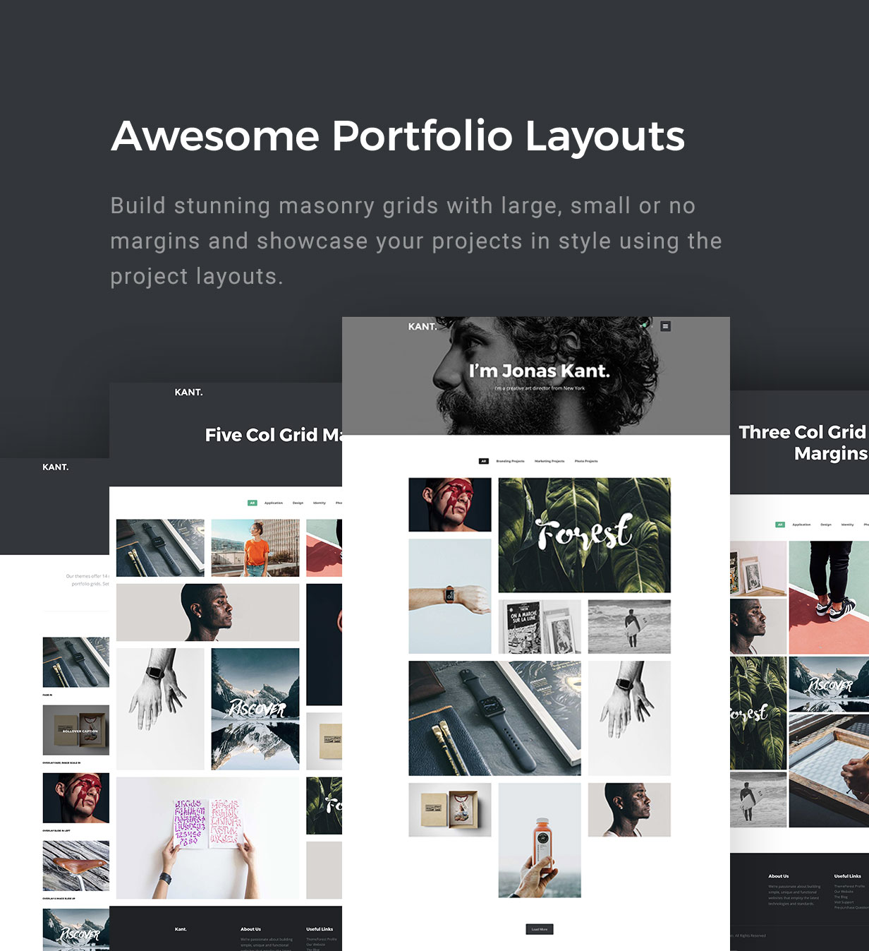 Kant - A Multipurpose WordPress Theme for Startups, Creatives and Freelancers